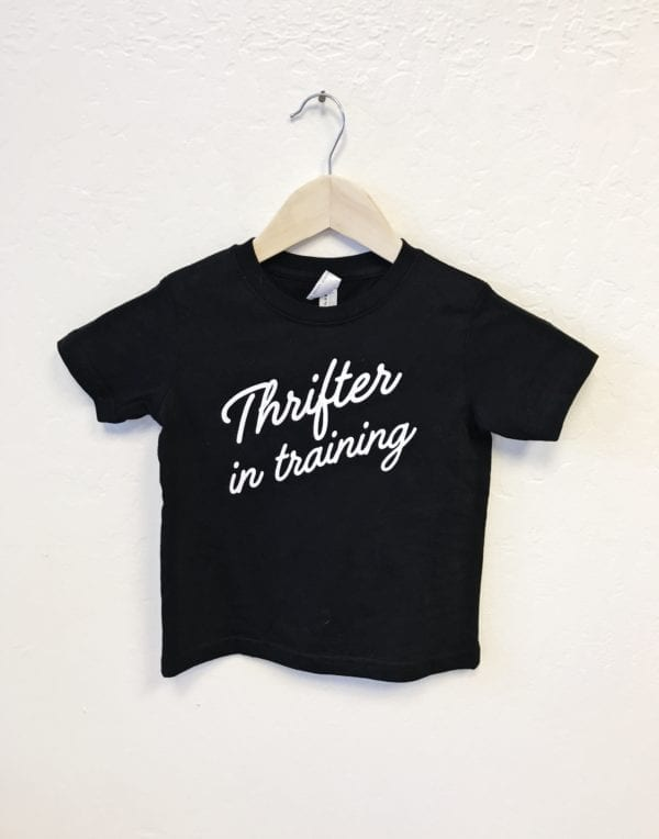Kid's Thrifter in Training Tee